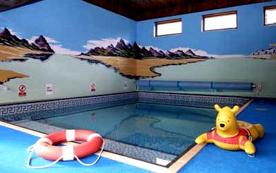 Мини-бассейн для ребенка в доме