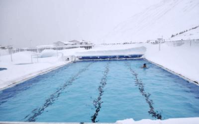 бассейн-зимой