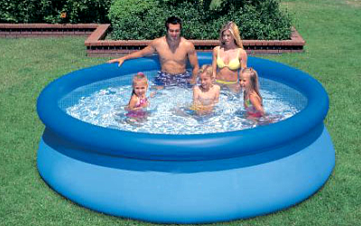 бассейн надувной