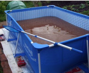 чистка бассейна химией
