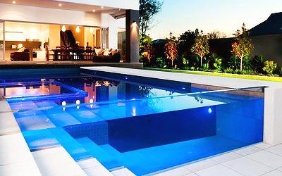 ночной бассейн-дизайн
