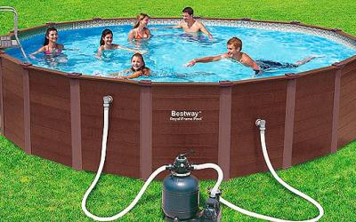фильтрация и уход за бассейном летом